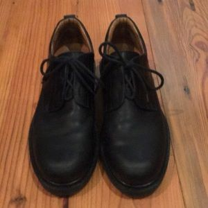 Johnston & Murphy Lace Up Black Shoes 9.5M